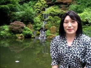 Pauline Park in the Japanese Garden in Portland